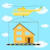 直升机运输 库存照片