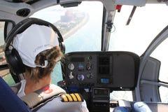 直升机飞行员 免版税图库摄影