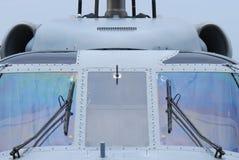 直升机驾驶舱 免版税库存照片