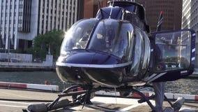 直升机,航空器,飞行,旅行 股票视频