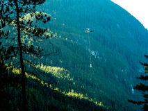 直升机建筑2 免版税库存图片