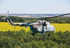 直升机Mi8 (臀部) 库存照片