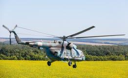 直升机Mi8 (臀部) 图库摄影