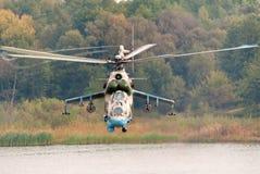 直升机Mi24 免版税图库摄影