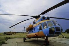 8直升机mi 库存图片