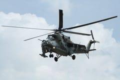 直升机Mi 24 库存照片