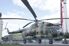 直升机Mi8T 库存照片