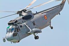 直升机Seaking 免版税图库摄影