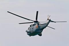 直升机Seaking 库存图片