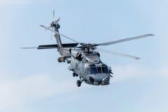 直升机SH-60B Seahawk 图库摄影