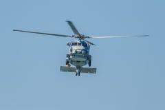 直升机SH-60B Seahawk 库存图片