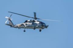 直升机SH-60B Seahawk 免版税库存照片