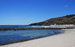 升火海湾坎加鲁岛南澳大利亚 免版税库存照片