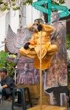 升空在雅加达耶路撒冷旧城印度尼西亚 库存照片