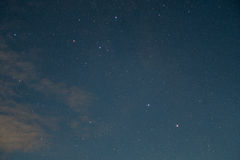 午夜星 库存图片