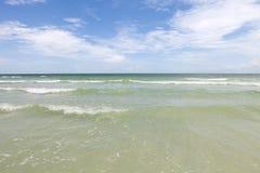午睡关键海滩萨拉索塔佛罗里达 免版税库存图片