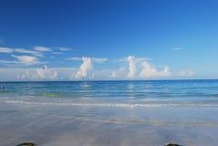 午睡海滩 免版税库存图片