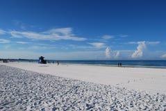 午睡海滩 库存图片
