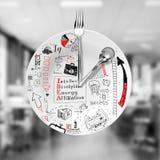 午餐和经营战略 免版税图库摄影