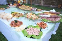 午餐婚姻食物 库存图片