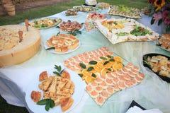 午餐婚姻食物 库存照片