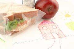 午餐学校 图库摄影