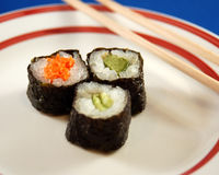 午餐寿司 免版税图库摄影