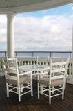 午餐海边 免版税库存照片