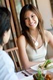 午餐的妇女 免版税库存图片