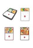 午餐盒 免版税库存图片