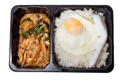 午餐盒 免版税库存照片