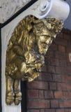 半人半兽状的神面貌古怪的人在牛津 库存图片