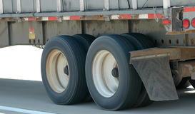 半加速的卡车 库存图片