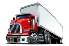 半动画片卡车 向量例证
