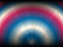 半圆梯度颜色传染媒介背景  向量例证