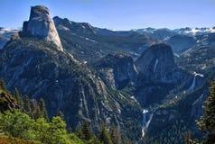 半圆顶在优胜美地国立公园,加利福尼亚美国 免版税库存照片