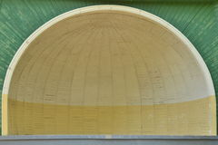 半圆顶阶段 图库摄影