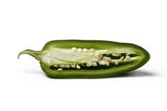半墨西哥胡椒 免版税库存照片
