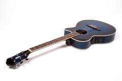 半声学吉他 库存图片