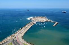 半岛在阿里卡市,智利 免版税图库摄影