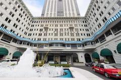 半岛酒店在香港 库存照片