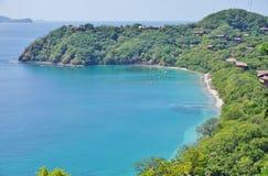 半岛Papagayo在Guanacaste,哥斯达黎加 库存图片