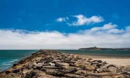 半月湾,加利福尼亚射击美国 库存图片