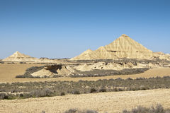半沙漠的横向 免版税库存照片
