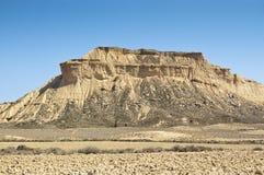 半沙漠的横向 免版税库存图片