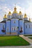 半球形的金黄基辅迈克尔修道院s st 库存图片