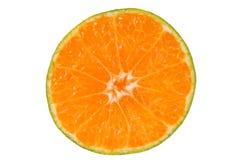 半的柑橘 免版税库存照片
