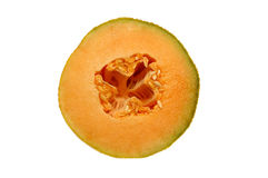 半的甜瓜 免版税库存照片