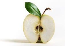 半的苹果 库存照片