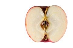 半的苹果 免版税库存照片
